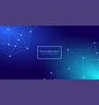 futuristic digital abstract technology background vector image