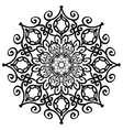 mandala forged design element vector image
