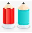 Modern two pencil icons