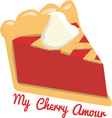 My Cherry Amour vector image vector image