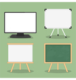 Objects for Presentation vector image vector image
