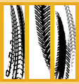 tire banners vector image vector image