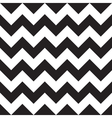 Black Chevron Seamless Pattern vector image