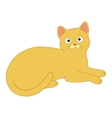 charming cat vector image