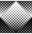 abstract black and white seamless square pattern vector image vector image
