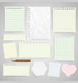 business paper labels for advertising or for vector image