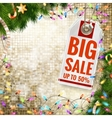 Christmas sale EPS 10 vector image