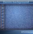 Denim realistic texture vector image