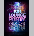 disco ball background disco big lounge party vector image vector image