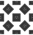 electrical outlet in the usa icon seamless pattern vector image vector image