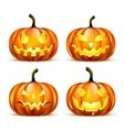 Jack Lantern Pumpkins vector image
