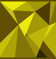 yellow low poly design element background vector image vector image