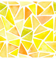 abstract pattern with yellow triangles vector image vector image