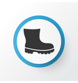 boot icon symbol premium quality isolated vector image