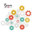 Gears design vector image vector image
