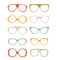 Glasses collection vector image vector image