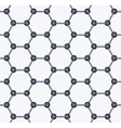 Graphene Seamless Pattern vector image vector image