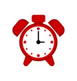 isolated alarm clock icon vector image vector image