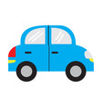 isolated car toy vector image vector image