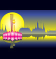 loy krathong festival thailand culture vector image