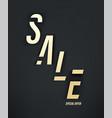 sale special offer banner vector image