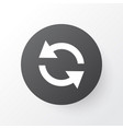 sync icon symbol premium quality isolated vector image