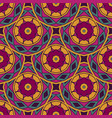 tiled ethnic pattern for fabric vector image