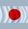 3d flag of japan japanese national symbol
