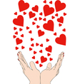 All the love you can vector image vector image