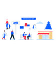 character shopping vector image vector image