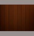 dark wooden plank textured background vector image