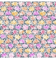 Hand drawn pattern with short brush strokes vector image vector image