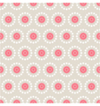 seamless pattern of abstract flowers vector image vector image
