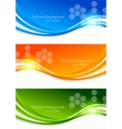 set colourful banners vector image vector image