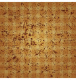abstract checkered background ancient vector image vector image