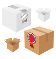 Carboard Boxes vector image vector image