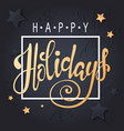 christmas background for holiday greeting card vector image