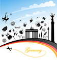 germany background vector image