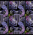 greek decorative seamless pattern abstract vector image