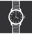Hand Drawn Vintage Watch Design Element vector image vector image