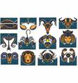 horoscope icon vector image vector image