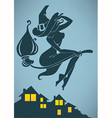 night witch vector image vector image