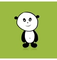 Panda bear for your design vector image vector image