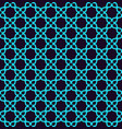 seamless pattern ornament lines and curls vector image