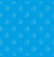 support phone pattern seamless blue vector image vector image