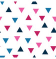 triangle seamless pttern background 8 vector image