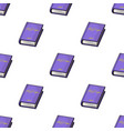 violet book icon in cartoon style isolated on vector image vector image