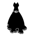 womens beautiful dress vector image