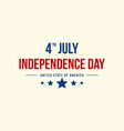 background style independence day vector image vector image