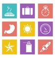color icons for web design set 29 vector image vector image